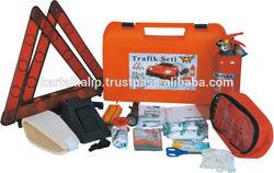Eagle Plastic Bond Car Emergency kit with 1kg Fire Extinguisher