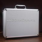 silver aluminium portable tool box