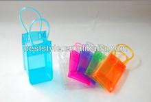Fashionable Clear PVC Ice Bag Handle