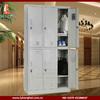 Wardrobe & Box KD Lockers six door storage cabinet locker,steel compartment locker,steel digital locker