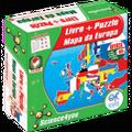 كتاب تعليم اطفالالألغاز خريطة أوروبا