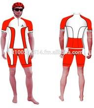 Bicycle set summer jersey + bib short + gloves