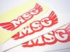 self adhesive plastic label printing customized design