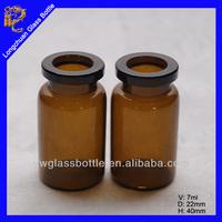 7ml amber glass medical tubular vial,Glass Bottle Series for Pharmaceuticals