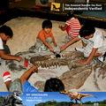 Meu dino- parque de diversões crianças itens brinquedos fósseis de dinossauro da escavação