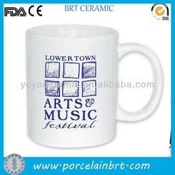 Music ceramic mug gift & promotion product