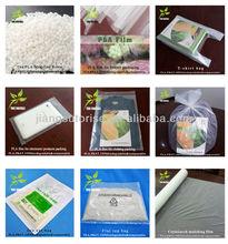 EN13432/ASTM D6400 Biodegradable PLA Plastic Bags
