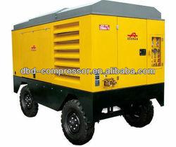 Single-stage compresses 17bar Portable diesel compressor