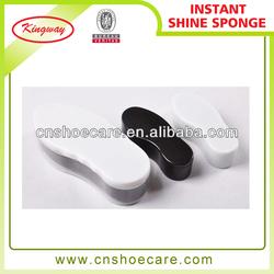 Hotel dispoable shoe shine with brand of shoe polish,shoe polish sponge applicator