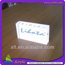 company brand name block customize sign block