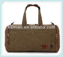 2014 stylish high quality sports canvas travel shoulder bag for men