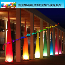Colorful Inflatable Lighting Decoration Cone,Led Lighting Decorations
