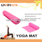 thick non-slip waterproof eco friendly yoga mat custom label