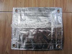 roof cover waterproof pe tarpaulin,aluminum foil coated pe fabric