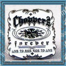 Metal Enamel Pin Badge Custom hopper Harley Bobber Bike Live to Ride orever custom logo metal pin badges