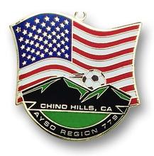 Flag Soft Enamel Medallions