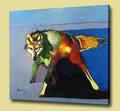 hecho a mano de arte famosas pinturas abstractas de pinturas sobre lienzo