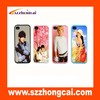 2014 hot high quality sublimation blank fancy cell phone cases made in china for Iphone4