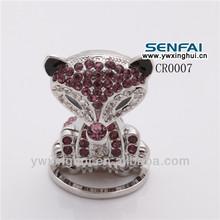 2014 popular fashionable palm civet crystal craft