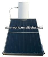 300L double coil split pressurized solar water heater