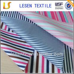 Shanghai Lesen Textile waterproof fabric/blue and white stripe fabric