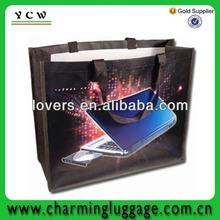 carton non woven pp laminated bag handle shopping bag Shenzhen