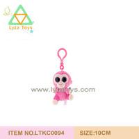 Plush Key Chain, Plush Mobile Chain, Custom Plush Keychain