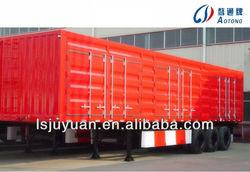 Side tipper Van semi trailer for sale , Van semi trailer for export,van truck trailer
