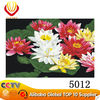 2014 DIY flower oil paint by numbers oil painting by number kits (40x50cm)
