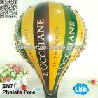 advertising blower foil baloon model hot air balloon