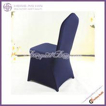 wholesale navy blue hotsale spandex chair cover wedding decoration for banquet chair manufacturer