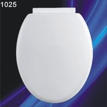 1025 soft closed white color plastic toilet seat cover