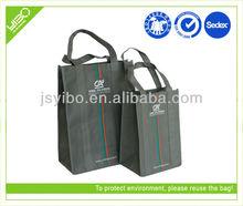 Popular silk screen non woven shopping bags