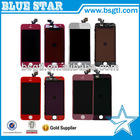 Special discount for iPhone 5 colorful lcd with digitizer assembly