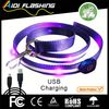 LED luminous dog collar and dog leash bag