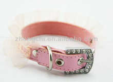 sweet pink lace small cat collar whole sale