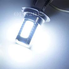 High Luminous DC 12V Red H7 5 LED Fog Light Bulb Ultra Bright