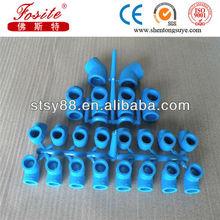PN20 blue ppr fittings plastic elbow