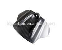 Motorcycle parts carbon fiber tank cover front for Aprilia RSV4 2009-2012
