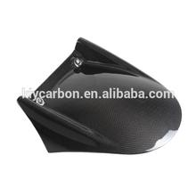 Motorcycle parts carbon fiber rear hugger mudguard for Aprilia Tuono V4 2011+