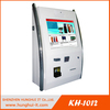 Fixed Mount Barcode Scanner Kiosk, Wall Mounted Cash Payment Kiosk With Mifare Card Reader