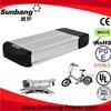3P13S 48V lithium ion battery pack for ebike, ebike battery pack 36v 10ah
