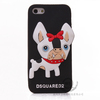 Silicon 3D Cartoon Dog Smart Case for Apple iPhone 5/5S,Mobile Phone Case for Iphone 5/5S