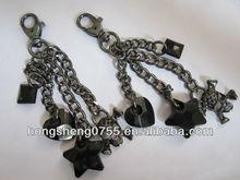 Custom metal Chain with snap hook for handbag/handbag accessory
