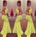 2014 alta qualidade made in china designer senhoras longa noite desgaste do partido vestido barato backless sereia cetim vestido de baile de noite ir