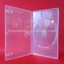 CD Box Plastic dvd case 14mm single writing a business letter