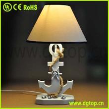 Creative european polyresin Anchor table lamp
