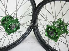 FULL MOTORCYCLE OFF ROAD DIRT BIKE WHEELS FOR KAWASAKI KX /KF 125 250 450