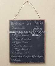 hanging metal sign,hanging iron art for doorplate
