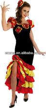 flamenco dress costume sexy flamenco costumes CW-1616